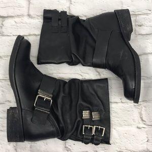 Matisse Arian Moto Harley Boots Black Size 9.5